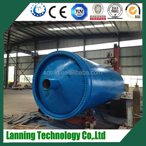 waste tyre oil pyrolysis distillaton machine