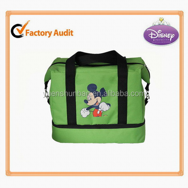 Outdoor Convenient 600D polyester Cooler Bag for oudoor activities disposable cooler bag factory