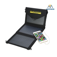 Large Capacity Waterproof Portable Solar Charger