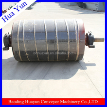 500mm diameter rubber lagging drive pulley for material handling