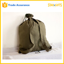 Alibaba China Old Fashion Canvas Army Ruchsack Backpack In Green