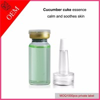 OEM Cucumber concentrate essence for skin relieve calm down and smooth no logo