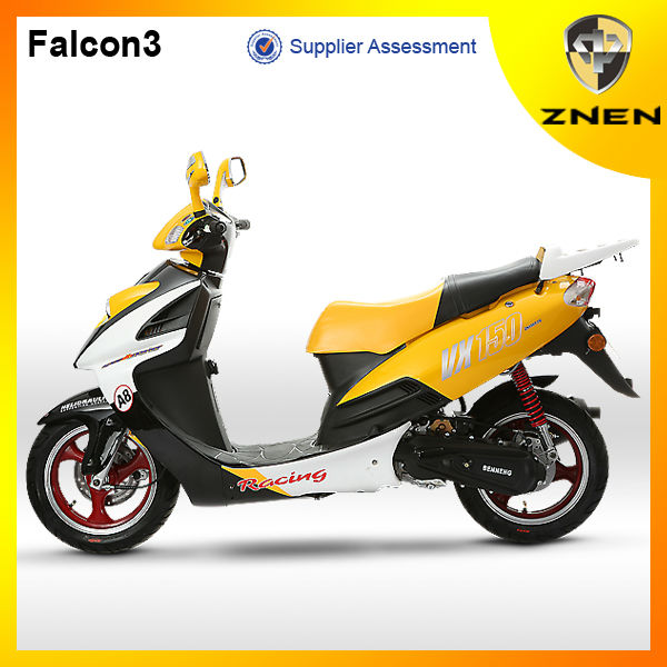 ZNEN MOTOR -- EEC classic scooter model with motorcycle brand names:zhongneng scooter