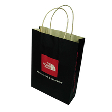 Durable printing wholesale custom shopping paper bag with logo print