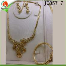 african jewelry sets wedding gold plated jewellery for wedding JQ057-7