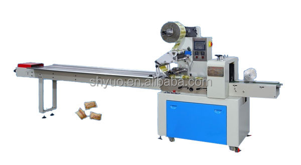 Flow Noddle Wrapping Machine or Candy ,Cakes ,Stick Bar Packing