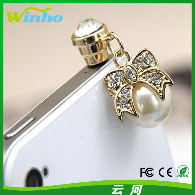 Winho new style crystal ear plug for attachment