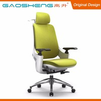 Best Quality Fabric Cover Plastic Armrest Office High Back Chair