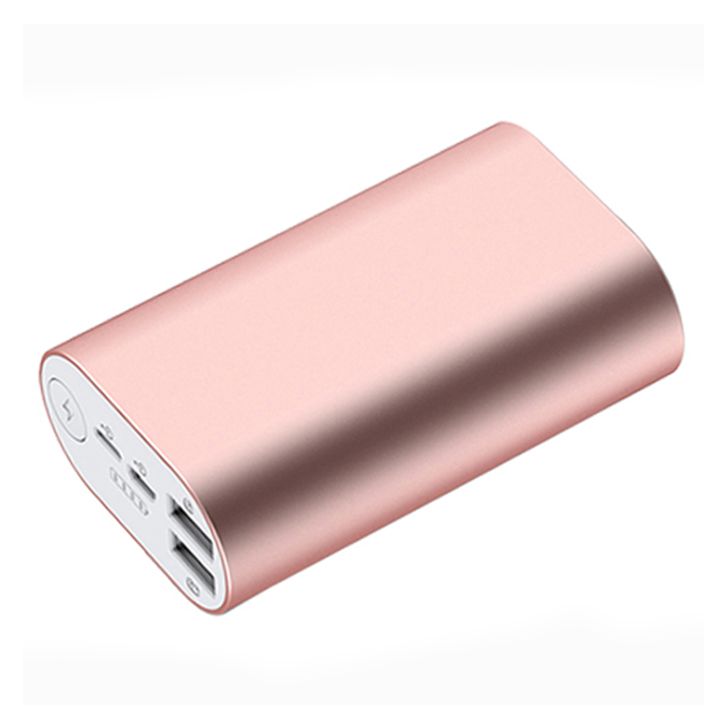 Hotsale gift purchase power bank case mental portable for digital products 10000mah