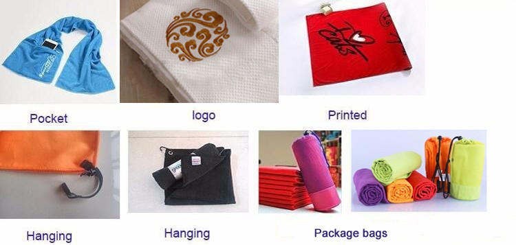 Personalized Microfiber Embroidered Waffle Golf Sport GYM Towels