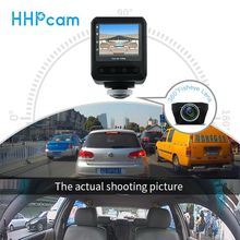 Wide Angle and Dual Lens Mode Wifi Full Hd 1080p Hd DVR Car Camera 360