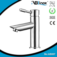 stainless steel basin faucet/basin tap/push down faucet