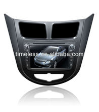 Hot Special for Hyundai VERNA/ Solyaris Car GPS Audio with DVD Ipod 3G TV