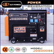 JLT- Power JD6000SE 5kW portable power generator single cylinder generator silent diesel genset supplier of power