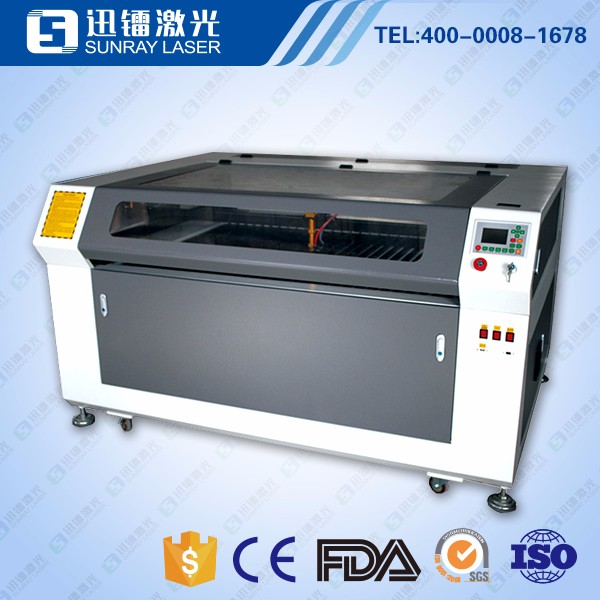CNC co2 laser engraving machine for wood leather