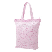 Customized full printing canvas beach bag,cotton shoulder bag,trendy tote bag