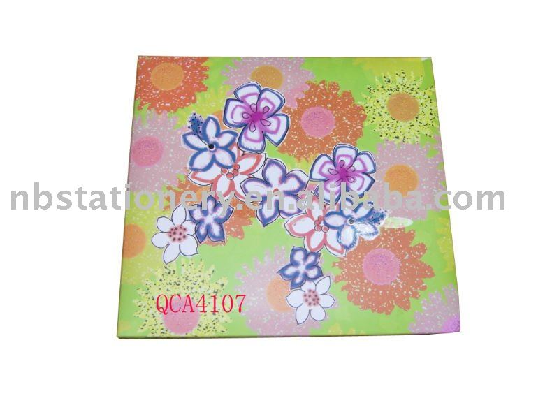 Thread Sewing bound Paper cover PP sheets photo album