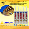 Heat Resistant Fire Retardant Silicone Sealant And Fireproof Silicone Sealant