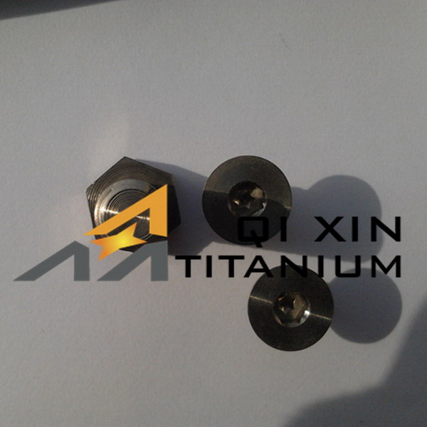 Top grade new products colorful car titanium alloy bolt m12
