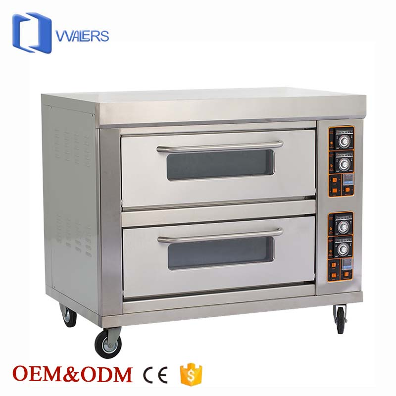 Bakery Equipment in Guangzhou Special Baking Cookie and Pizza Eletric Oven Machine with China 12 Years Manufacture Fundation