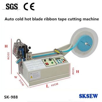 small Label Webbing Fabric Tapes hot cutter Cutting Machine for sale