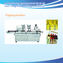 glass bottle filling capping machine