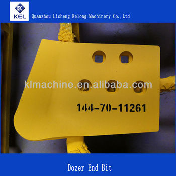 D60/TY160 Bulldozer Cutting Edge 144-70-11261