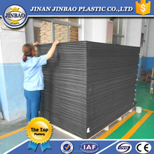 Jinbao pvc sheet price 4x8ft 1.22m x1.83m 4mm pvc partition board