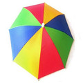 J1016 promotion custom logo head umbrella in stock for sale