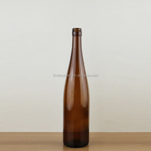 Factory cheap price 750ml 75cl Dry white wine empty glass bottle Hock wine bottle