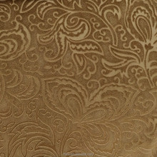 upholstery jacquard Flocking fabrics for sofa ,upholstery ,curtain fabrics, and other home textiles