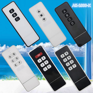 433MHz Wireless Remote 3/4/6/7/8 Channel Universal RF remote control PT2260