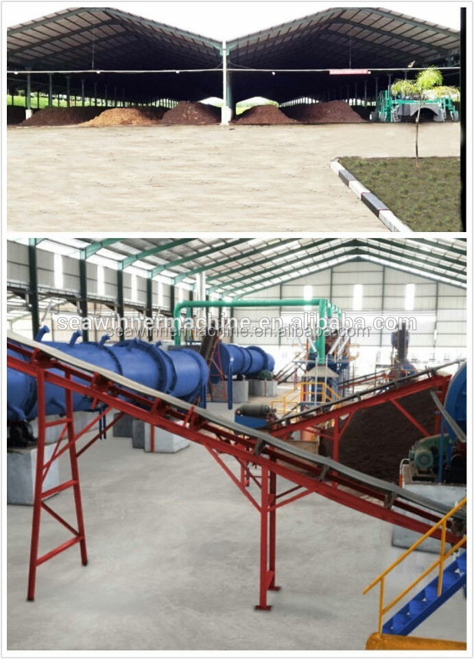 compost fertilizer granulation production line