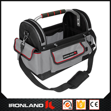18 Inch Custom Made Polyester 1680D Wrench Tool Bag With Stainless Steel Handle