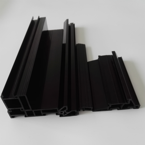 PVC Rain Water Gutters and Gutter Fitting for Plastic Profile