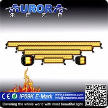 Aurora 20 inch 120w amber led light excellent heat spreading lightbars./