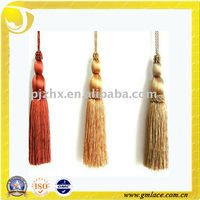 Colorful Polyester Mini Decorative Tassel for Bottle