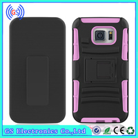 3 In 1 Super Robot Holster Combo Hybrid Kickstand Cover Case For ZTE Z740