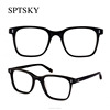 Classic Design Prescription Big Frames Eyeglasses