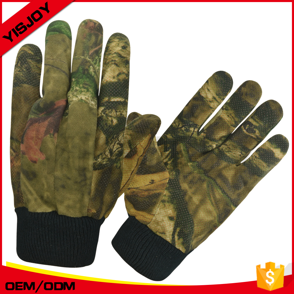 Custom Camouflage Sport Hunting Gloves waterproof impact resistance safety gloves