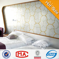 HF JY-L01 beloved gold and silver mosaic table patterns cheap square meter price tile wall tile for bedroom