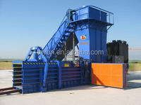 HPA-125 Horizontal Manual Strapping Baler for waste paper cardboard from China