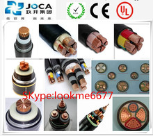 High Voltage 26/35KV Cu SWA Armoured power cable XLPE Insulated Three Core power Cable