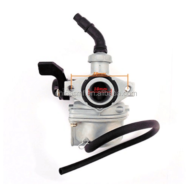 Carburetor 18mm PB18 (RH) Hand Choke ATV Go Kart Dirt Bike 50cc, 70cc, 90cc, 100cc, 110cc, 125cc