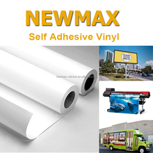 White Glossy Self Adhesive PVC Vinyl Sticker Paper Roll for ECO-Solvent