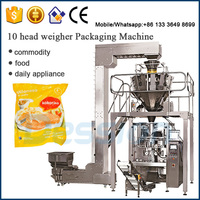 automatic chicken nuggets packing machine,puffed snack food machine