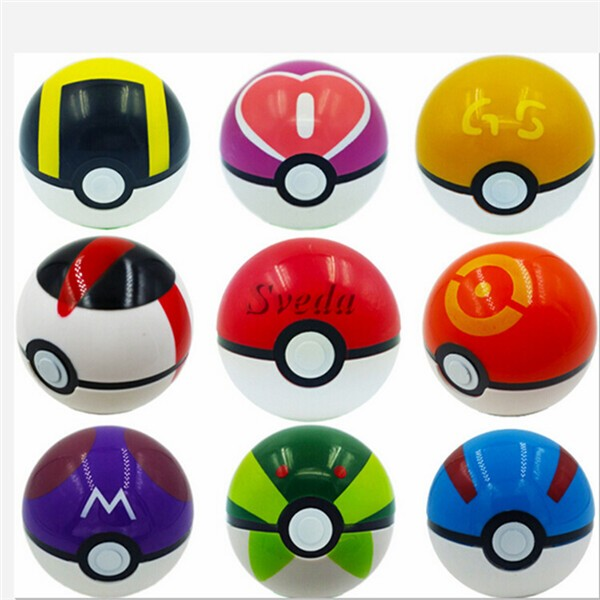 Hot game Pokemon Go promotional toy, Pokemon ball ,7cm GS Poke Ball Doll