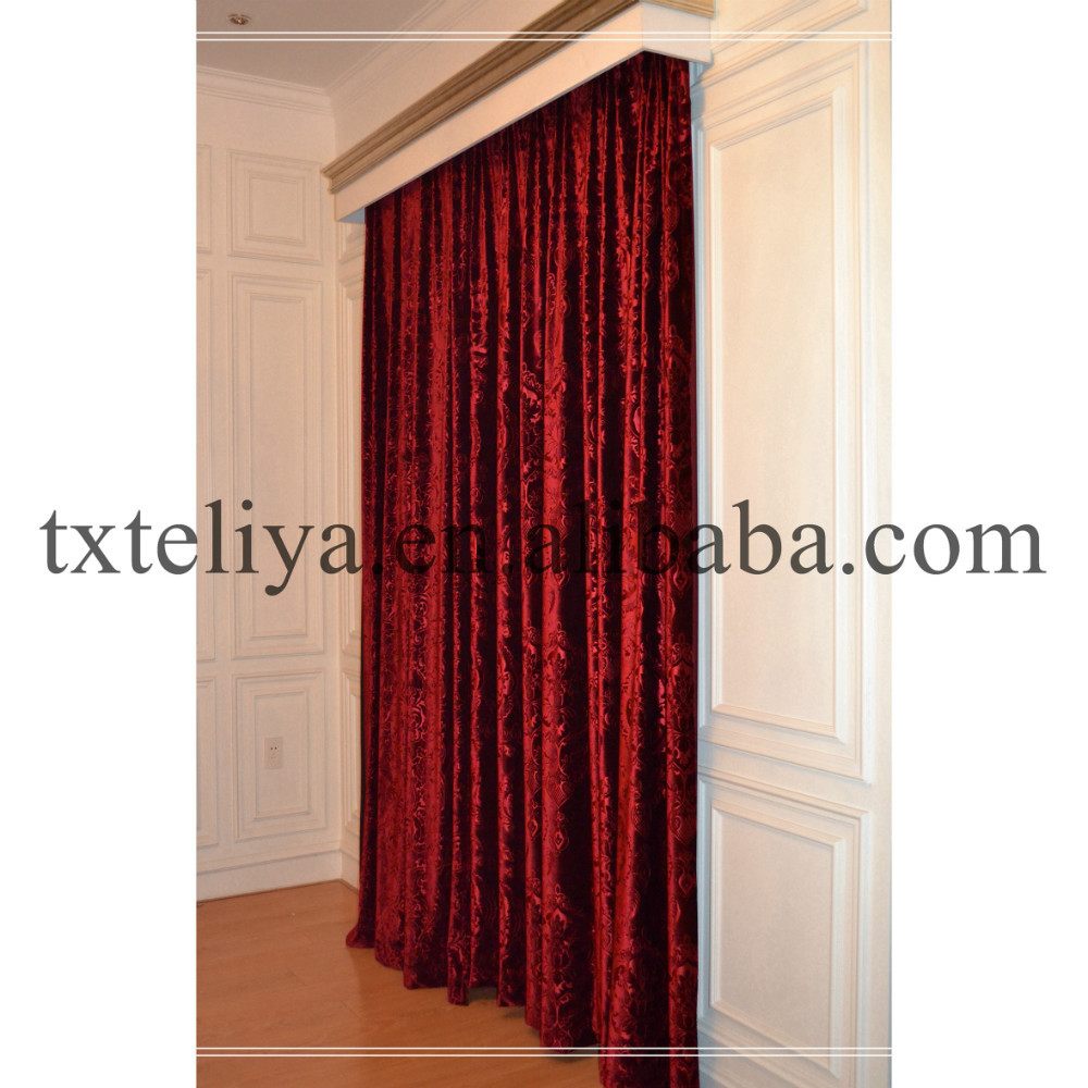 Egypt velvet curtain