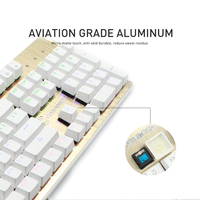 professional waterproof backlight gaming keyboard mechanical for internet cafe