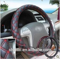 20pcs 38CM Fashion 4 season-use leather Car Steering Wheel Covers